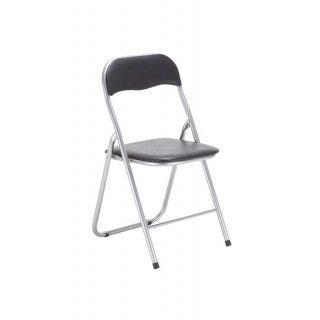 Krzesło składane Vico czarne TS INTERIOR