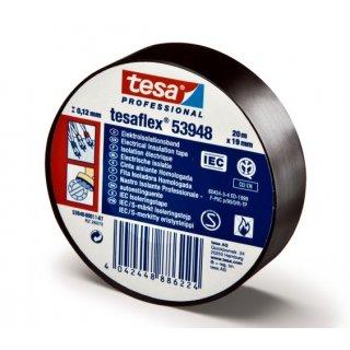 Taśma elektroizolacyjna izolacja 10 m czarna TESA