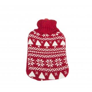 Termofor w sweterku skandynawskie wzory FLORENTYNA