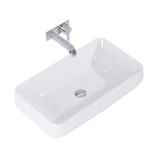Umywalka Agnes 72x41cm,  biała ELITA