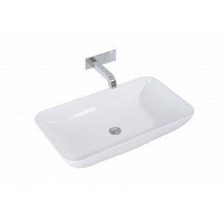 Umywalka nablatowa Fresi 70x40 biała ELITA