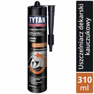 Uszczelniacz dekarski bezbarwny 310 ml TYTAN