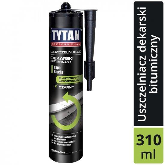 Uszczelniacz dekarski czarny 310 ml TYTAN