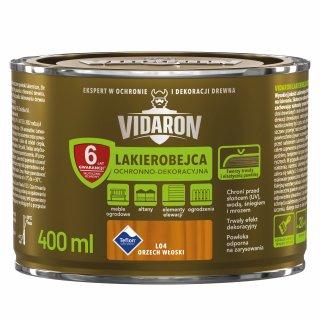 Lakierobejca do drewna orzech włoski 0,4 L Vidaron ŚNIEŻKA