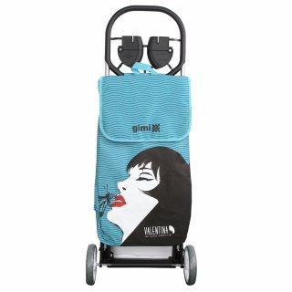 Wózek zakupowy 30 kg/50 L niebieski Valentina ALTOM