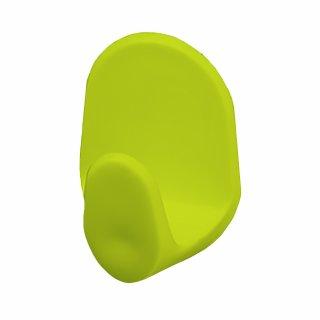 Wieszaczek samoprzylepny C 4 szt. zielony BISK
