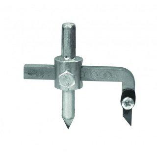 Wycinacz otworów do glazury śr. 32-120 mm wymienne ostrze DEDRA