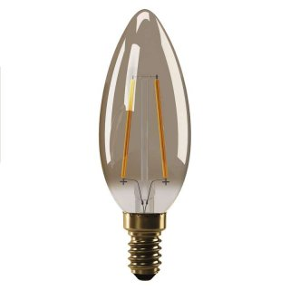 Żarówka LED Vintage candle 2W E14 ciepła biel+ EMOS