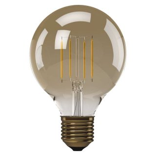 Żarówka LED Vintage G95 4W E27 ciepła biel+ EMOS