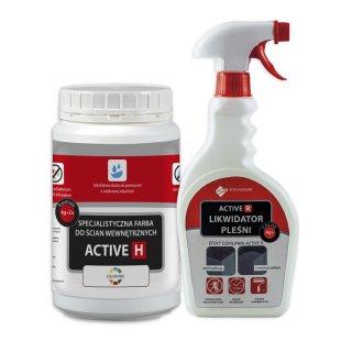 Zestaw antygrzybiczny 2w1 ACTIVE-R