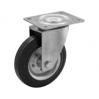 Koło skrętne 125 mm bez hamulca RADER