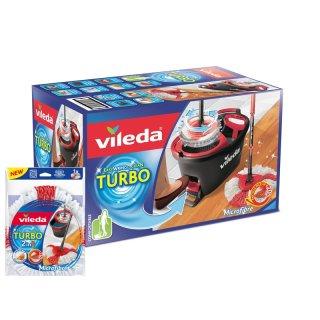 Zestaw Mop obrotowy Easy Wring and Clean + wkład VILEDA