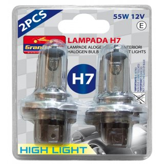Żarówki H7 12V 60/55W Grand Prix Hight Light BOTTARI