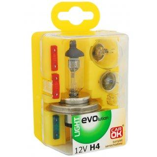 Zestaw żarówek zapasowych H4 12V PROFAST
