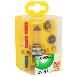 Zestaw żarówek zapasowych H7 12V PROFAST