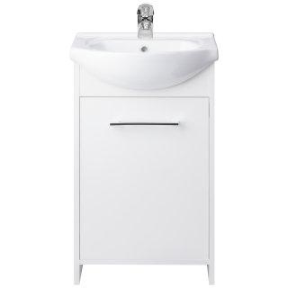 Szafka z umywalką 45 cm biała ASTOR