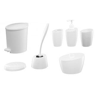 Zestaw akcesoriów łazienkowych 7 szt. Pop BISK