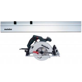 Ręczna pilarka tarczowa KS 55 FS + prowadnica 150 cm METABO