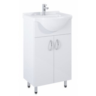 Szafka łazienkowa z umywalką Agawa 50 ELITA