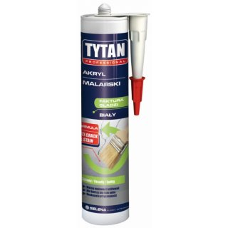 Akryl malarski Biały 310 ml TYTAN