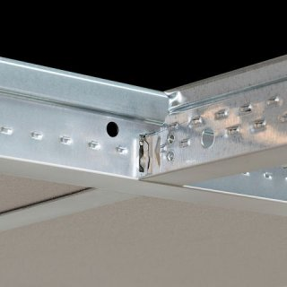 Armstrong Prelude 24 TL2 Peakform profil poprzeczny, kolor biały Global White