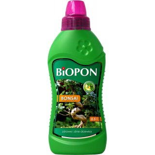 Nawóz do bonsai 0,5l BIOPON