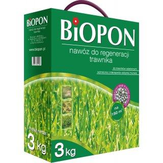 Nawóz do regeneracji trawnika 3kg BIOPON