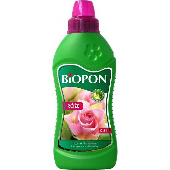 Nawóz do róż 0,5l BIOPON