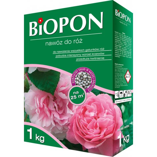 Nawóz do róż 1kg BIOPON