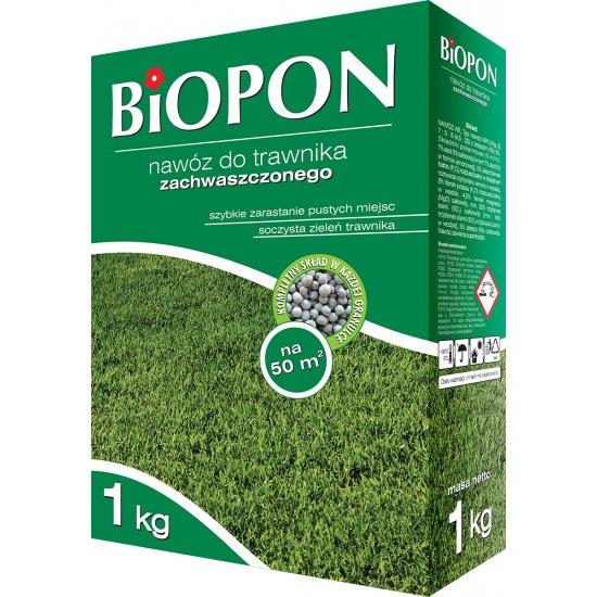 Nawóz do trawnika zachwaszczonego 1kg BIOPON
