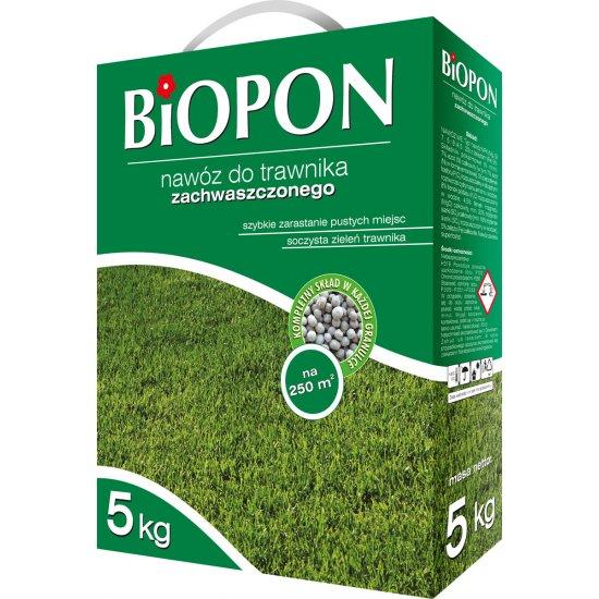 Nawóz do trawnika zachwaszczonego 5kg BIOPON