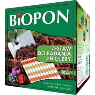 Zestaw do badani PH gleby BIOPON