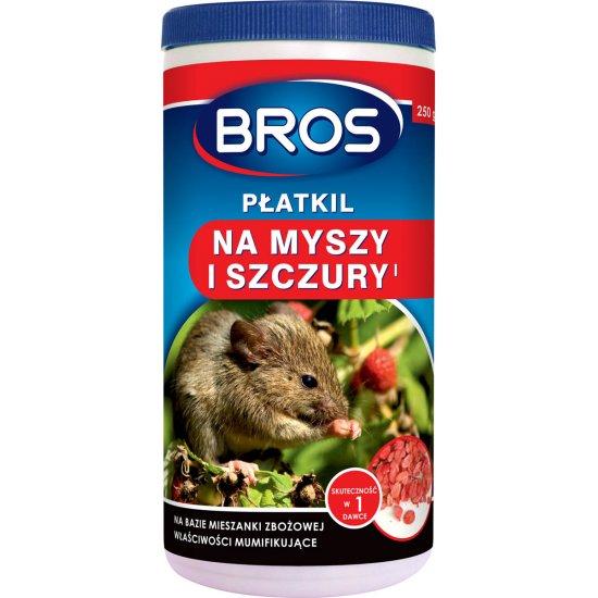 Płatki na myszy i szczury 250 g BROS