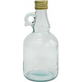 Butelka Gallone z uszkiem i zakrętką 0,5L BROWIN