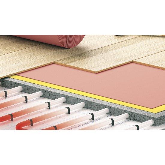 Podkład pod panele Expert Roll Term 2 mm czerwony CEZAR 16,5m2