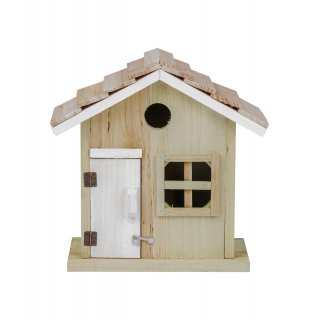 Domek dla ptaków Jasny brąz