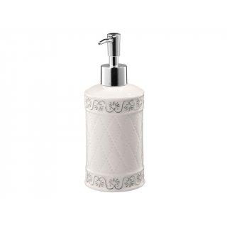 Dozownik mydła Castello biały BISK