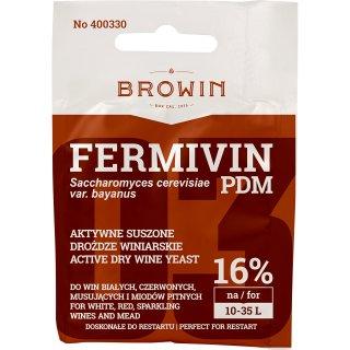 Suszone drożdże winiarskie do win Fermivin Pdf BROWIN