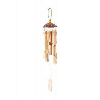 Bambusowe dzwonki na wietrze