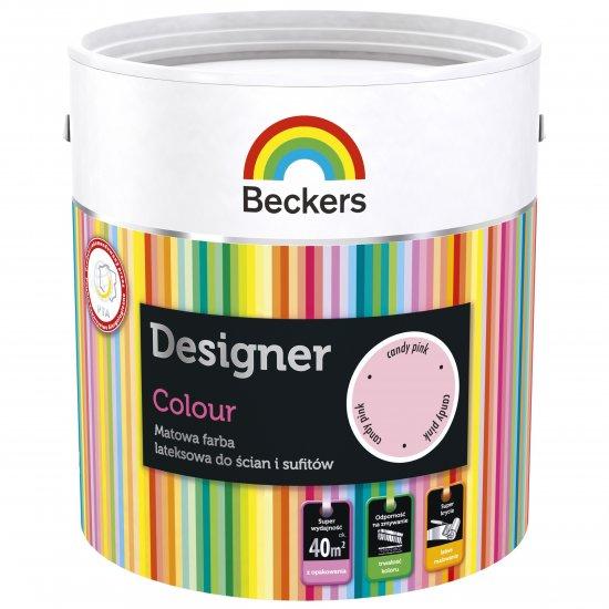 Farba lateksowa Designer 2,5L candy pink BECKERS TIKKURILA