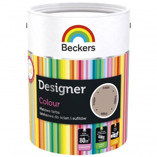Farba lateksowa Designer 5L frappe BECKERS TIKKURILA