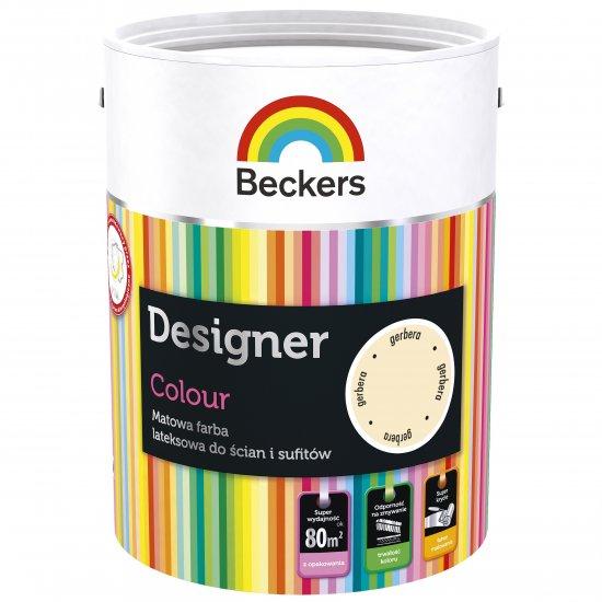 Farba lateksowa Designer 5L gerbera BECKERS TIKKURILA