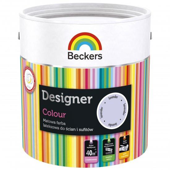 Farba lateksowa Designer 2,5L lavender BECKERS TIKKURILA