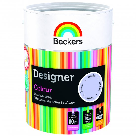 Farba lateksowa Designer 5L lavender BECKERS TIKKURILA
