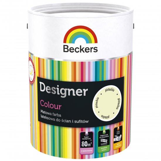 Farba lateksowa Designer 5L pistachio BECKERS TIKKURILA