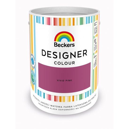 Farba lateksowa Designer 5L vivid pink BECKERS TIKKURILA