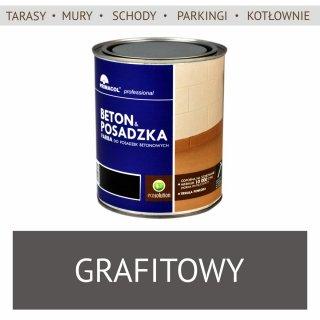 Farba Beton Posadzka, Grafitowy 0,75L UNICELL
