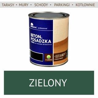Farba Beton Posadzka, Zielony 0,75L UNICELL