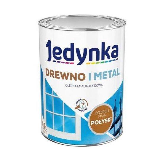 Farba do drewna i metalu Jedynka 0,9L orzech jasny TIKKURILA