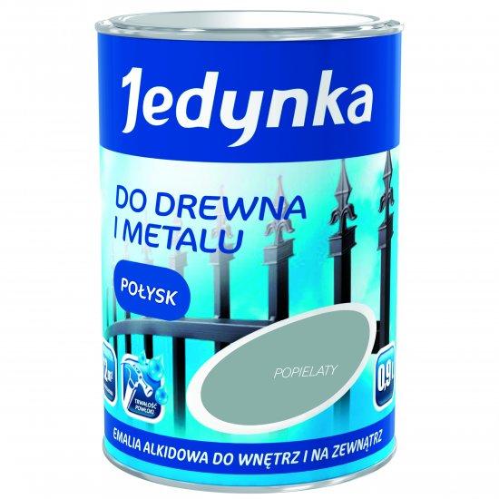 Farba do drewna i metalu Jedynka 0,9L popielaty TIKKURILA